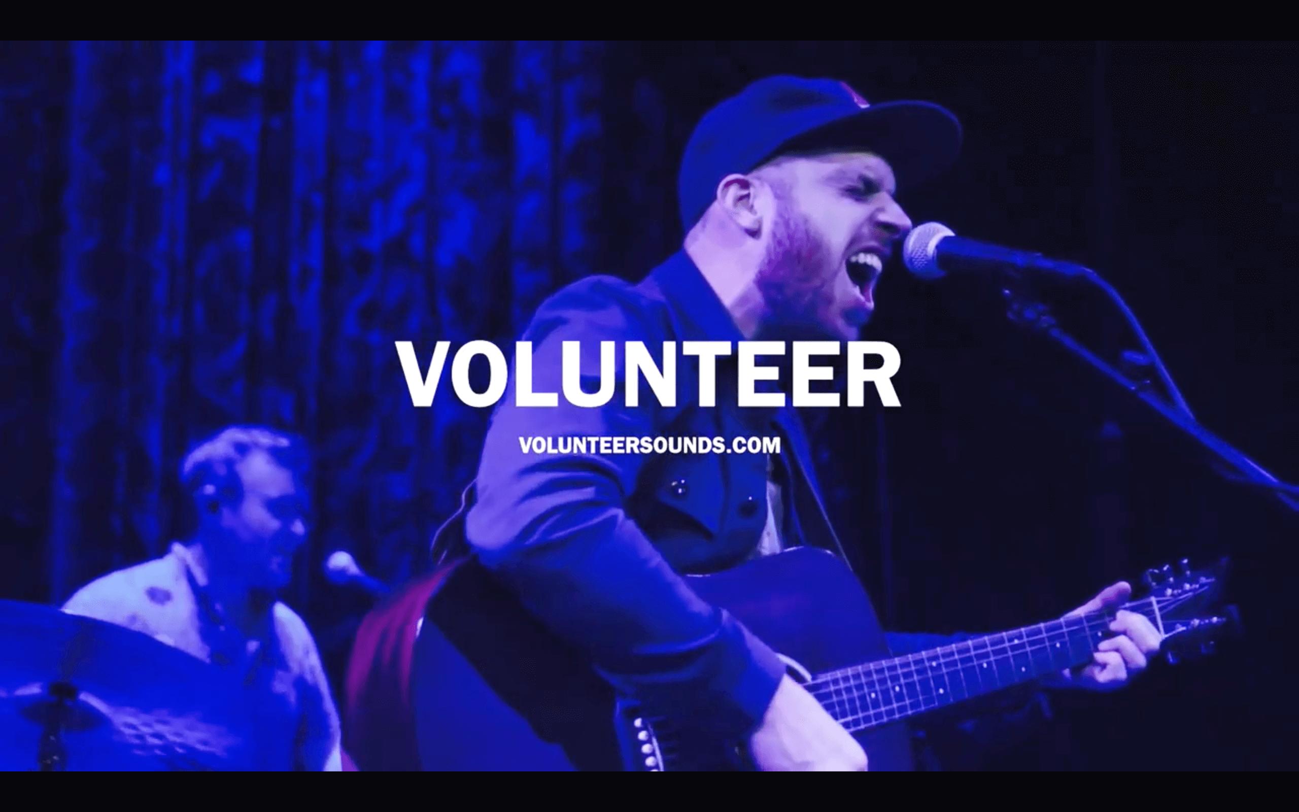 Volunteer - Live