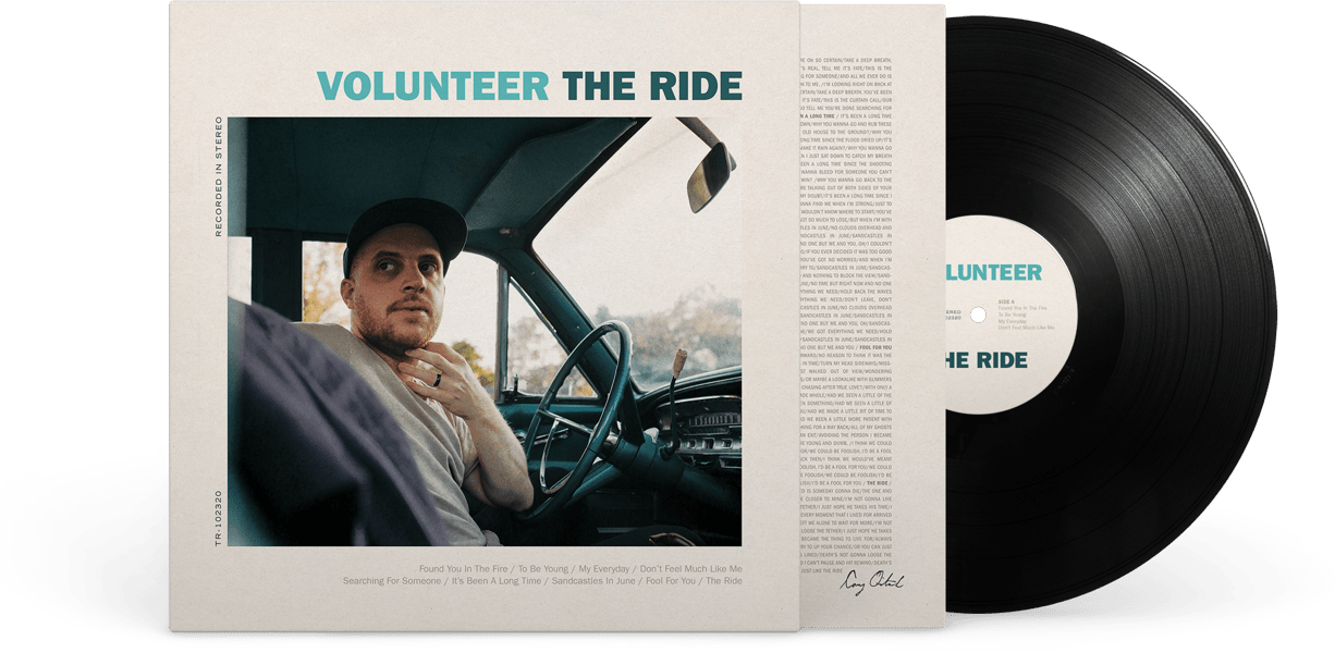 Volunteer The Ride vinyl album cover